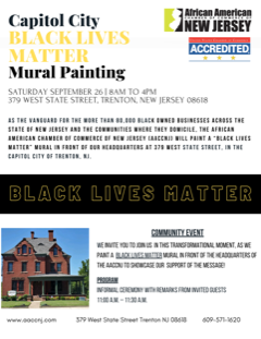 Capitol City Black Lives Matter Mural Painting