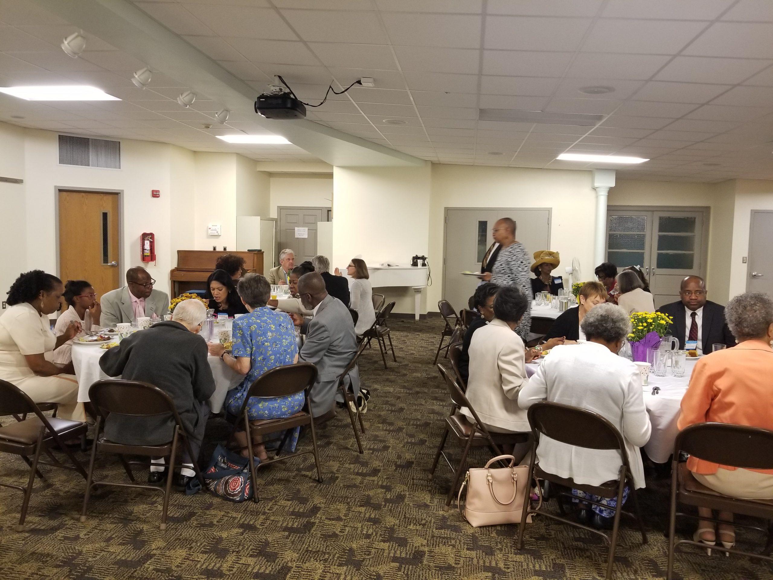 Church breakfast at Princeton United Methodist Church