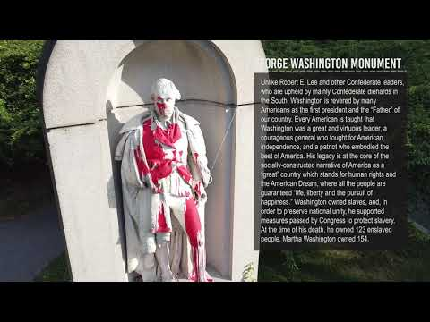 Video about confederate monuments remaining in Baltimore