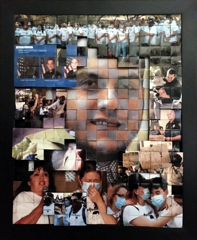 Photomontage featuring Carlos 'Adrian' Ingram-Lopez