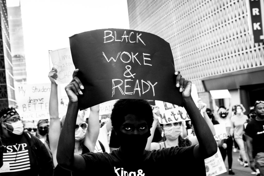Black Woke & Ready Sign